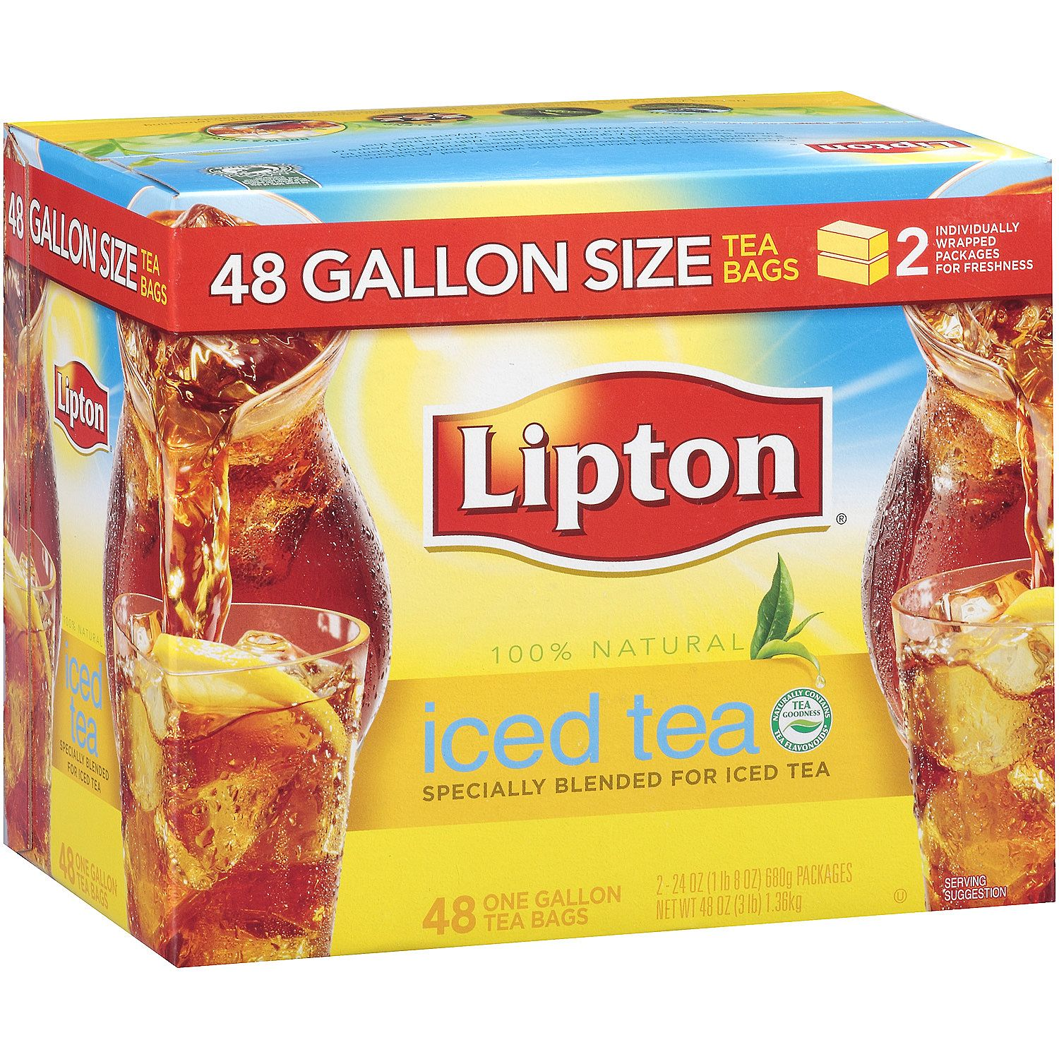 LIPTON SINGLE SERVE TEA BAGS - 312CS