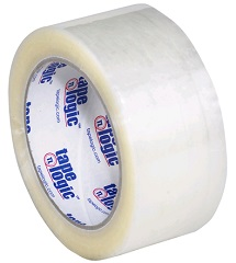 "2"" X 110YD TAPE LOGIC 600 1.6MIL CLEAR HOT MELT CARTON"