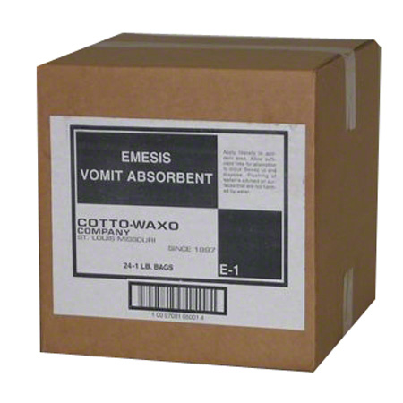 COTTO WAXO EMESIS VOMIT ABSORBENT 1# BAG 24CS