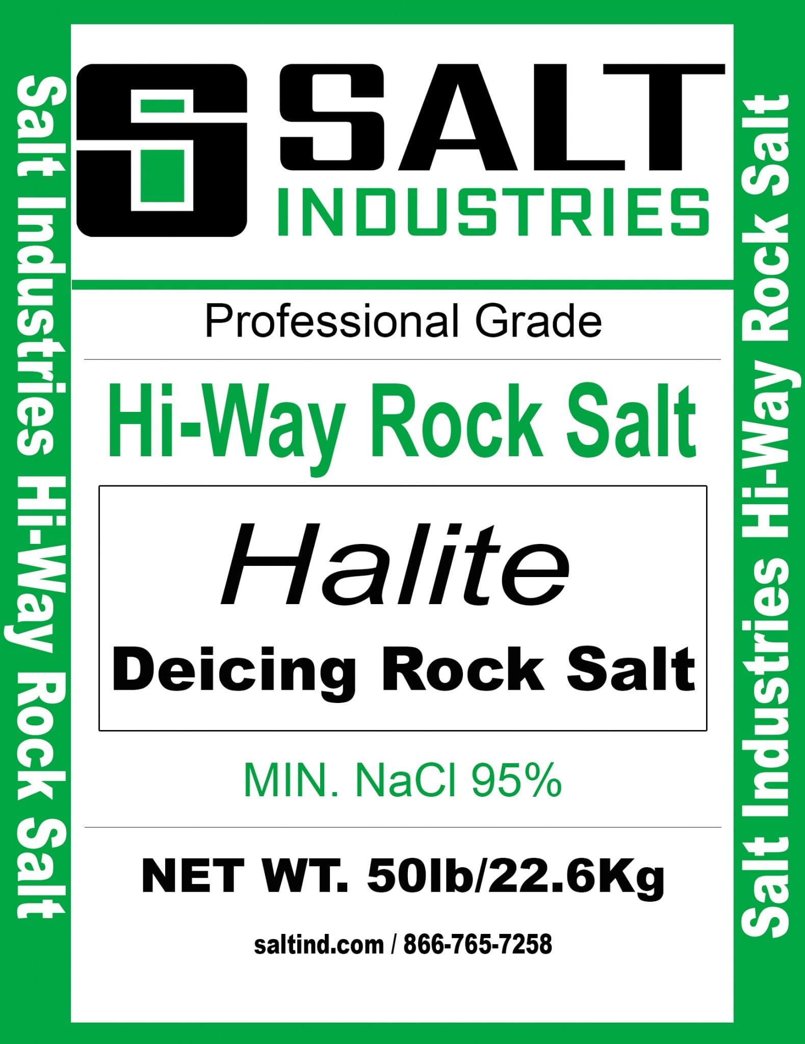 HI-WAY ROCK SALT 50# 49PL
