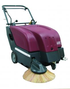 "28"" KLEEN SWEEP BATTERY OPERATED SWEEPER W/ BATTERIES"