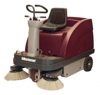 "47"" KLEEN SWEEP RIDER SWEEPER NO BATTERIES"
