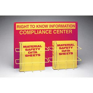 BRADY DOUBLE RIGHT TO KNOW COMPLIANCE CENTER 1EA