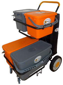 SSS NEXGEN MICROFIBER CLEANING DOLLY II SYSTEM 1EA