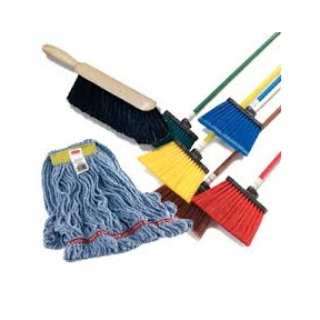 Mops, Brooms, & Brushes